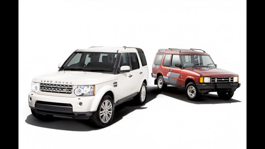 Land Rover Discovery: 20 anni di successo