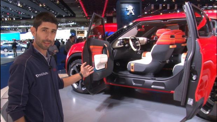 Salone di Francoforte, Citroen osa con il concept Aircross [VIDEO]