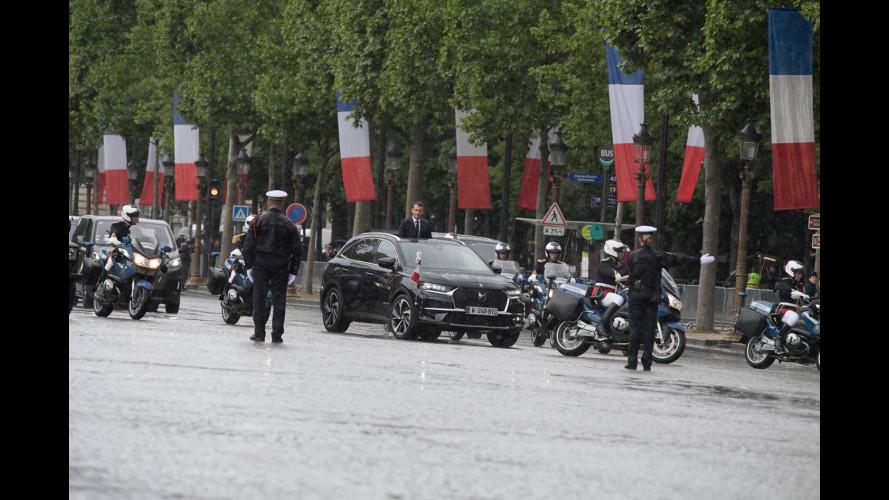 DS 7 Crossback è l'auto presidenziale di Emmanuel Macron