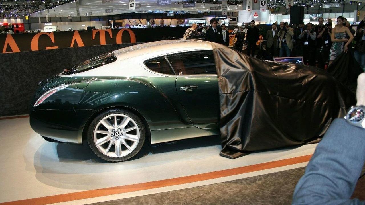 Bentley GTZ Zagato unveiling