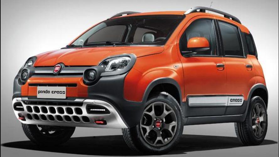 Nuova Fiat Panda Cross, la baby fuoristrada è tornata