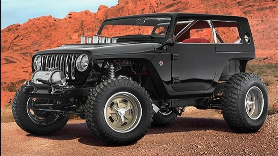 Jeep e Mopar pronte a invadere il deserto
