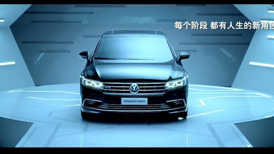 Volkswagen Phideon GTE, ibrido Audi per l'ammiraglia cinese