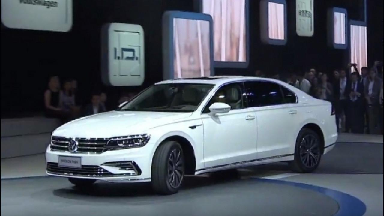 [Copertina] - Volkswagen Phideon GTE, ibrido Audi per l'ammiraglia cinese