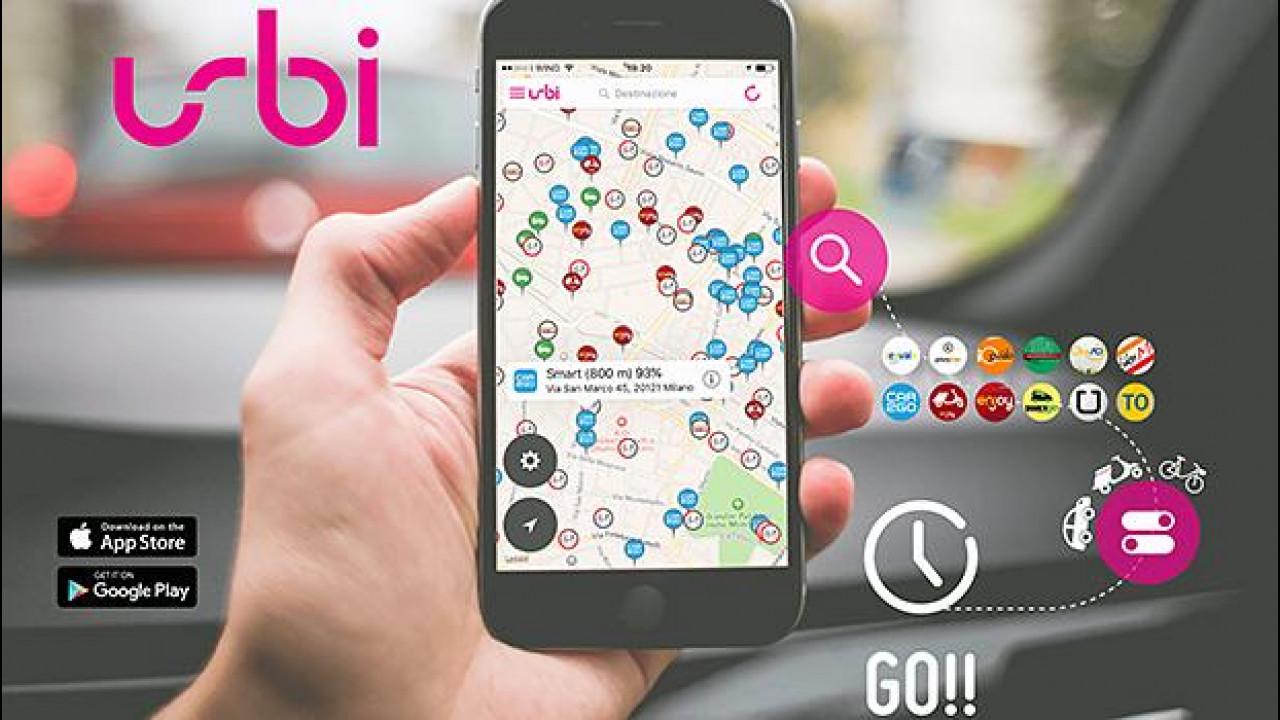 [Copertina] - Urbi, tutto il car (e non solo...) sharing in un'app
