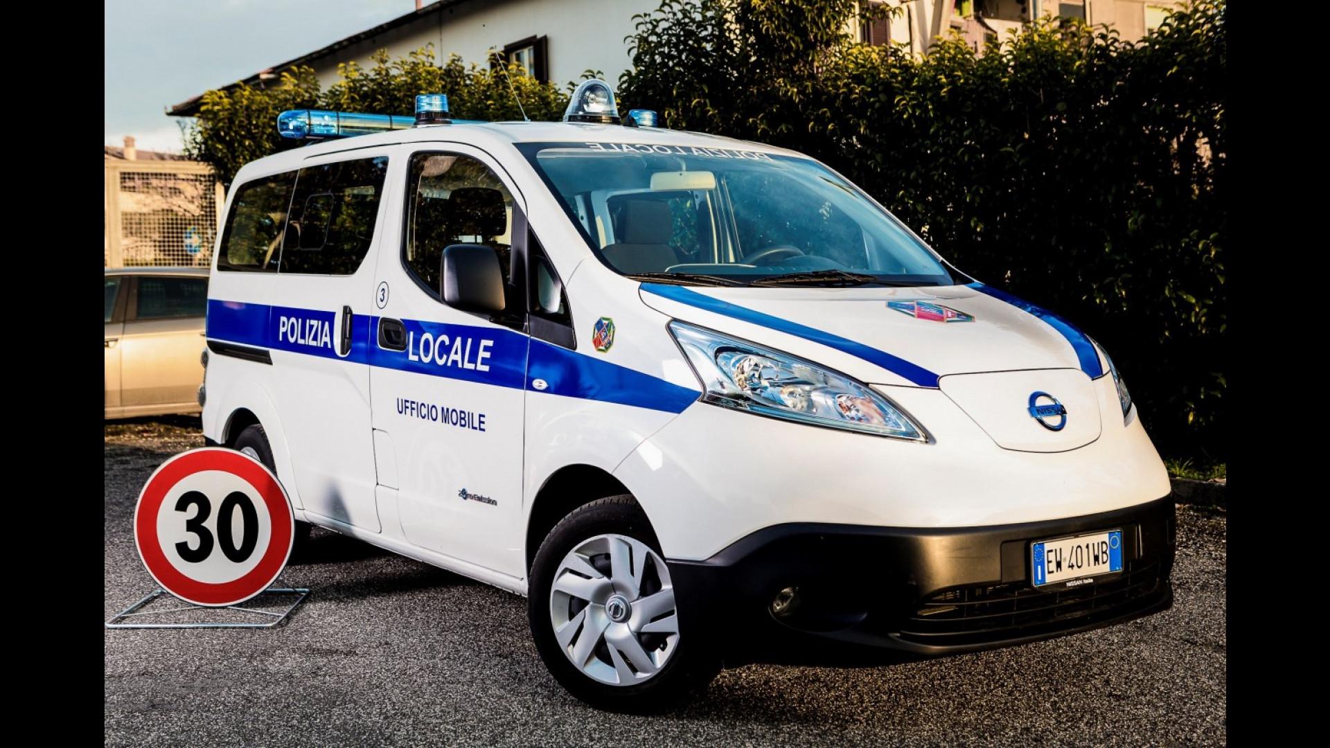 Schemi Elettrici Nissan : Nissan e nv il primo ufficio mobile elettrico al mondo