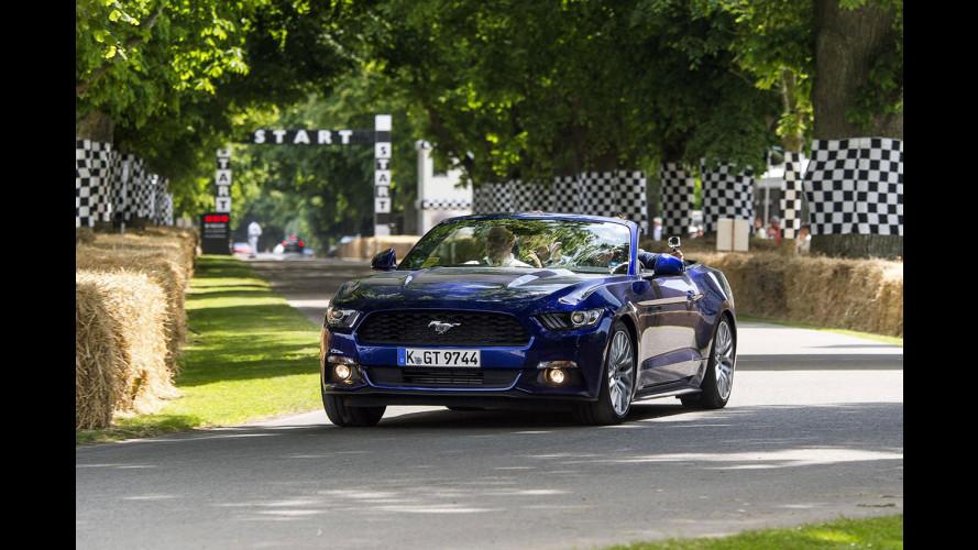 Ford Focus RS, il battesimo di Goodwood con 350 CV