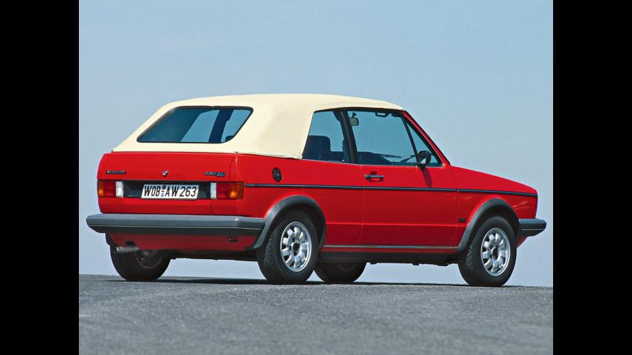 Volkswagen Golf Cabriolet, la