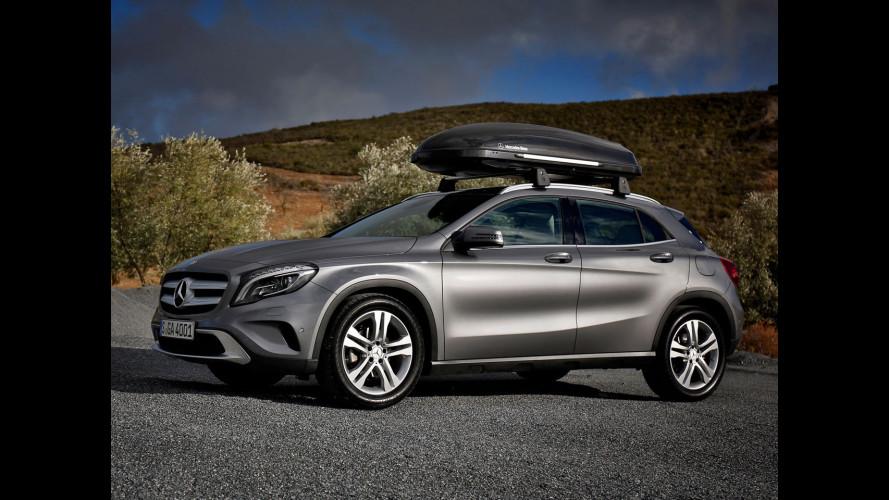 Mercedes GLA, accessori per tutti i gusti