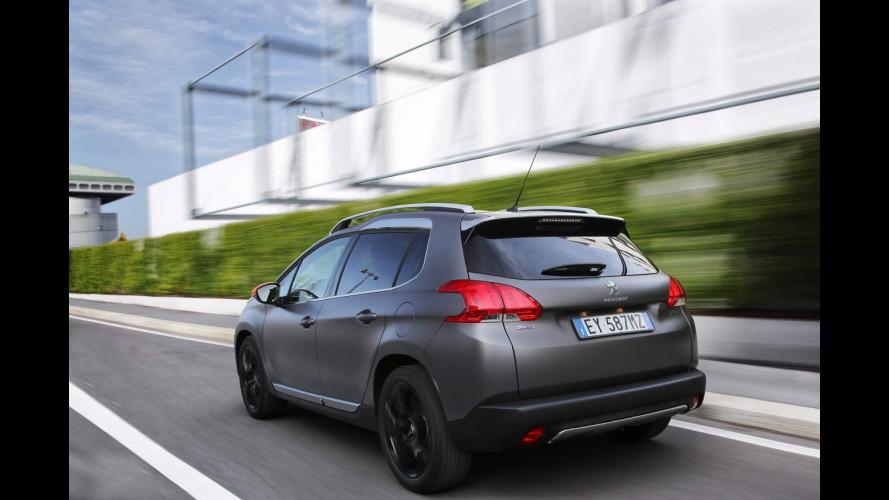 Peugeot 2008 Black Matt, l'opaco è di tendenza