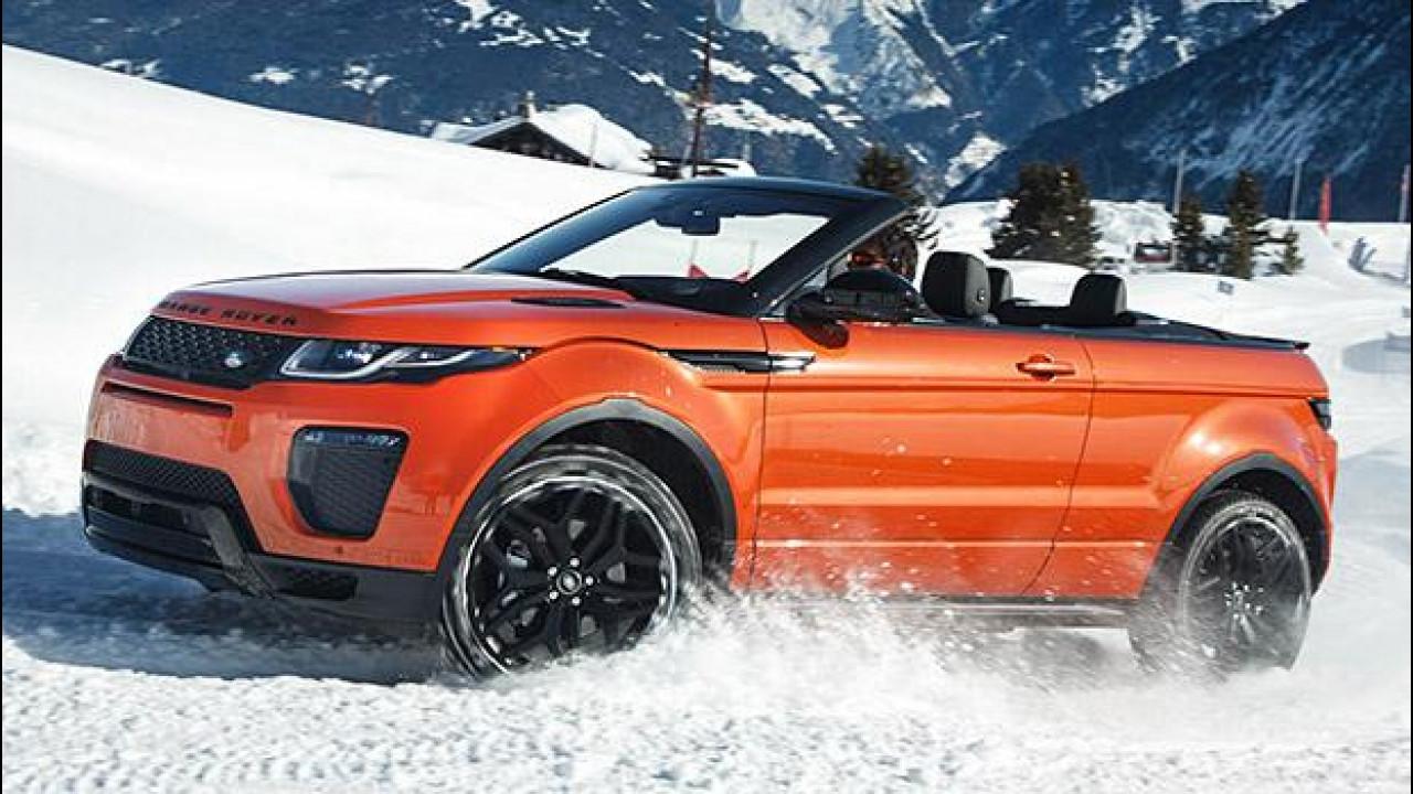 [Copertina] - Range Rover Evoque Convertibile, la prova all'aria aperta
