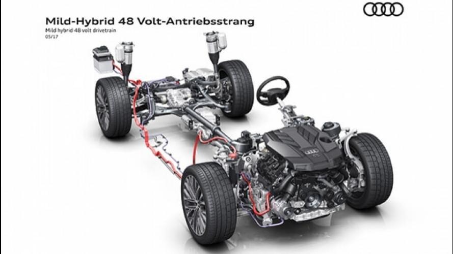 Audi A8, la nuova sarà Mild-Hybrid
