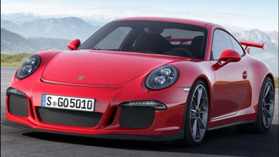 """Porsche cambia i motori """"difettosi"""" delle 911 GT3"""