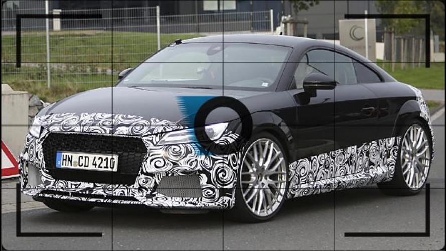 Nuova Audi TT RS, prime foto spia