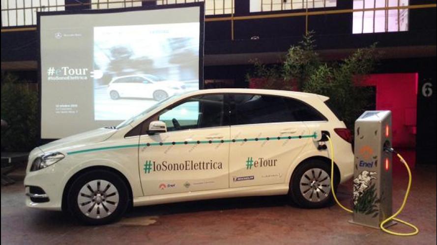 [Copertina] - Auto elettrica, ACI e Mercedes firmano un protocollo di guida sicura