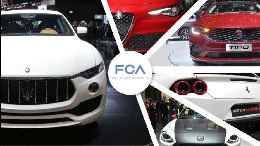 Ginevra: FCA torna a sfornare auto, senza Lancia [VIDEO]