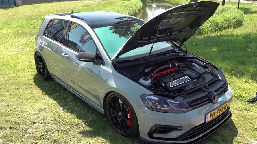 RS3 motorlu bu Volkswagen Golf R inanılmaz güçlü!