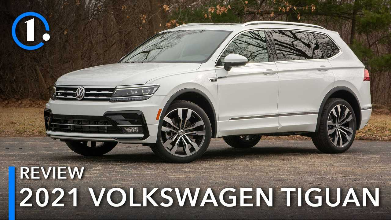 The 2021 Volkswagen Tiguan is a fine highway cruiser.