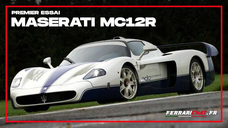 Essai Maserati MC12R - La supercar selon Edo Competition