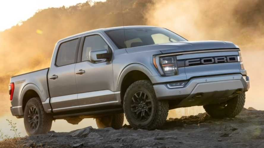 2023 Ford F-150 Electric Rendered With Little Tweaks