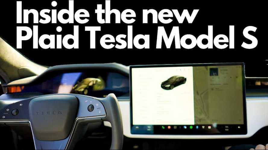 Tesla Raj Takes Deep Dive Inside Tesla's New Plaid Model S