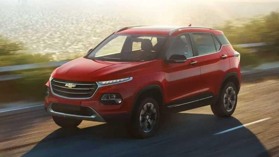 Chevrolet Groove chegará ao México abaixo do Tracker