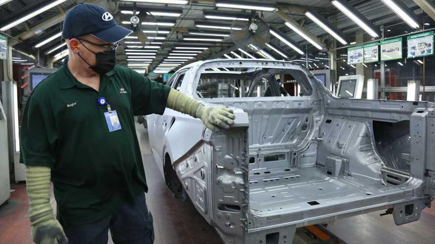 Hyundai Santa Cruz 2022 Masuk Jalur Produksi