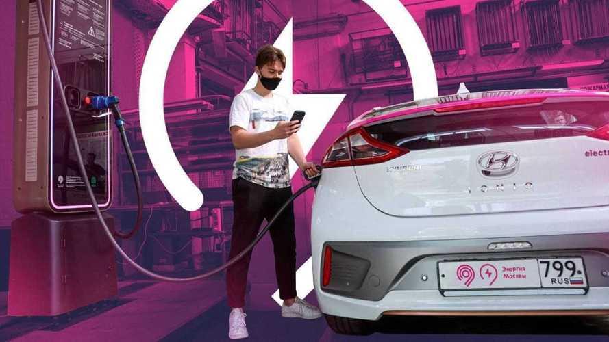 В Москве начали тестировать быструю зарядку электромобилей