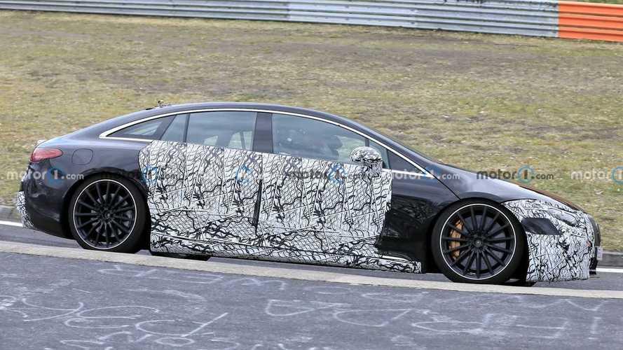 Mercedes-AMG EQS Spy Photos