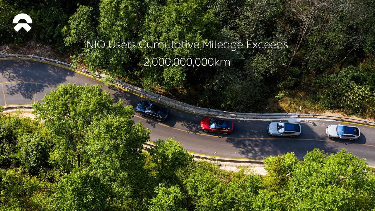 NIO Users Cumulative Mileage Exceeds 2 Billion Kilometers