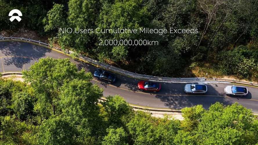 NIO Celebrates Cumulative Mileage Of Two Billion Kilometers