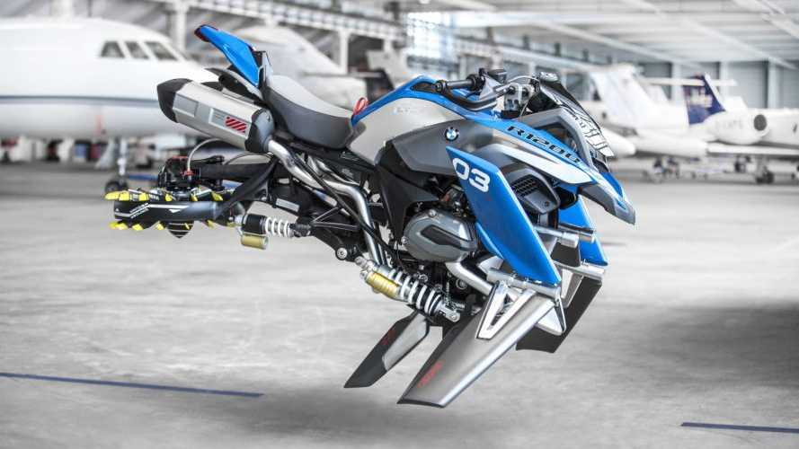 BMW Partners With Lego For R 1200 GS Hover Bike Concept