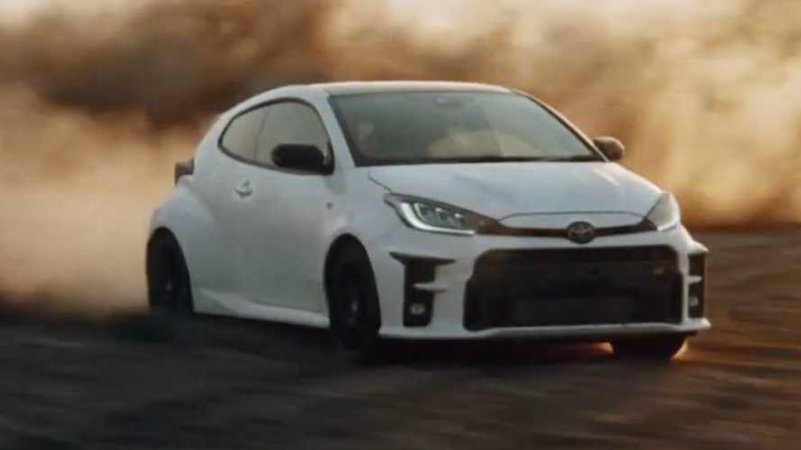 Toyota had to defend this GR Yaris ad from being banned