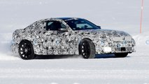 bmw m2 spy photos snow