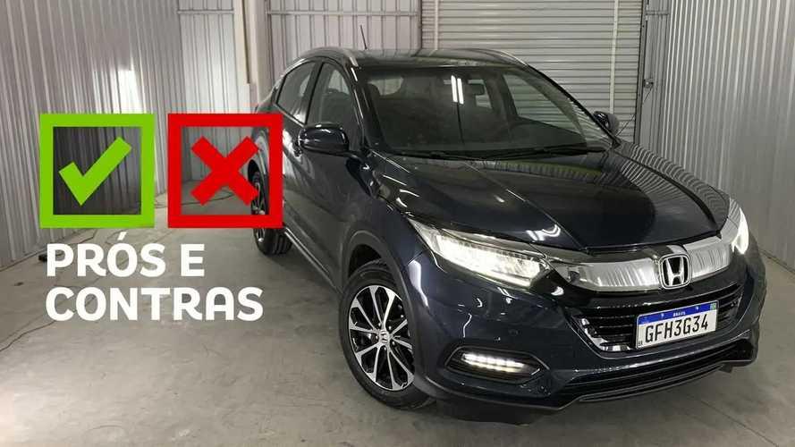 Honda HR-V EXL 2021: Prós e Contras