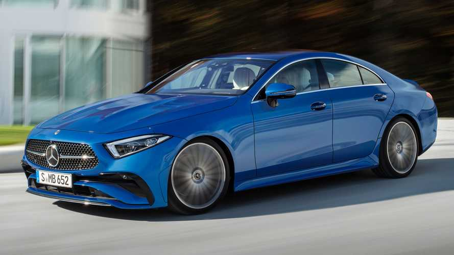 2022 Mercedes-Benz CLS Debuts With Fresh Face, New Steering Wheel
