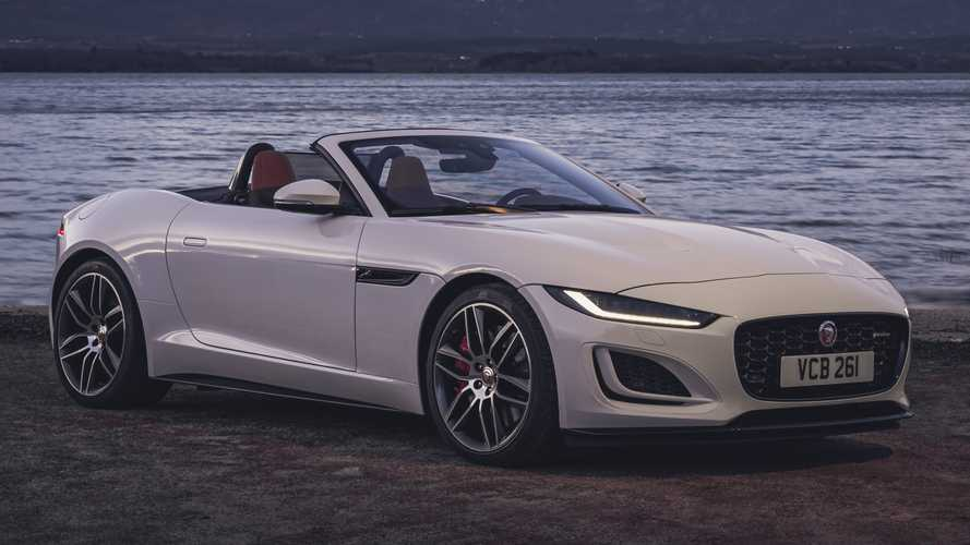 2022 Jaguar F-Type Arrives With New P450 Model Making 444 HP