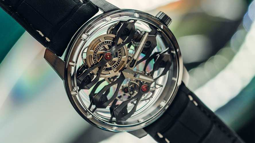 Limited-Run Aston Martin Watch Has Transparent Case To Expose Movement