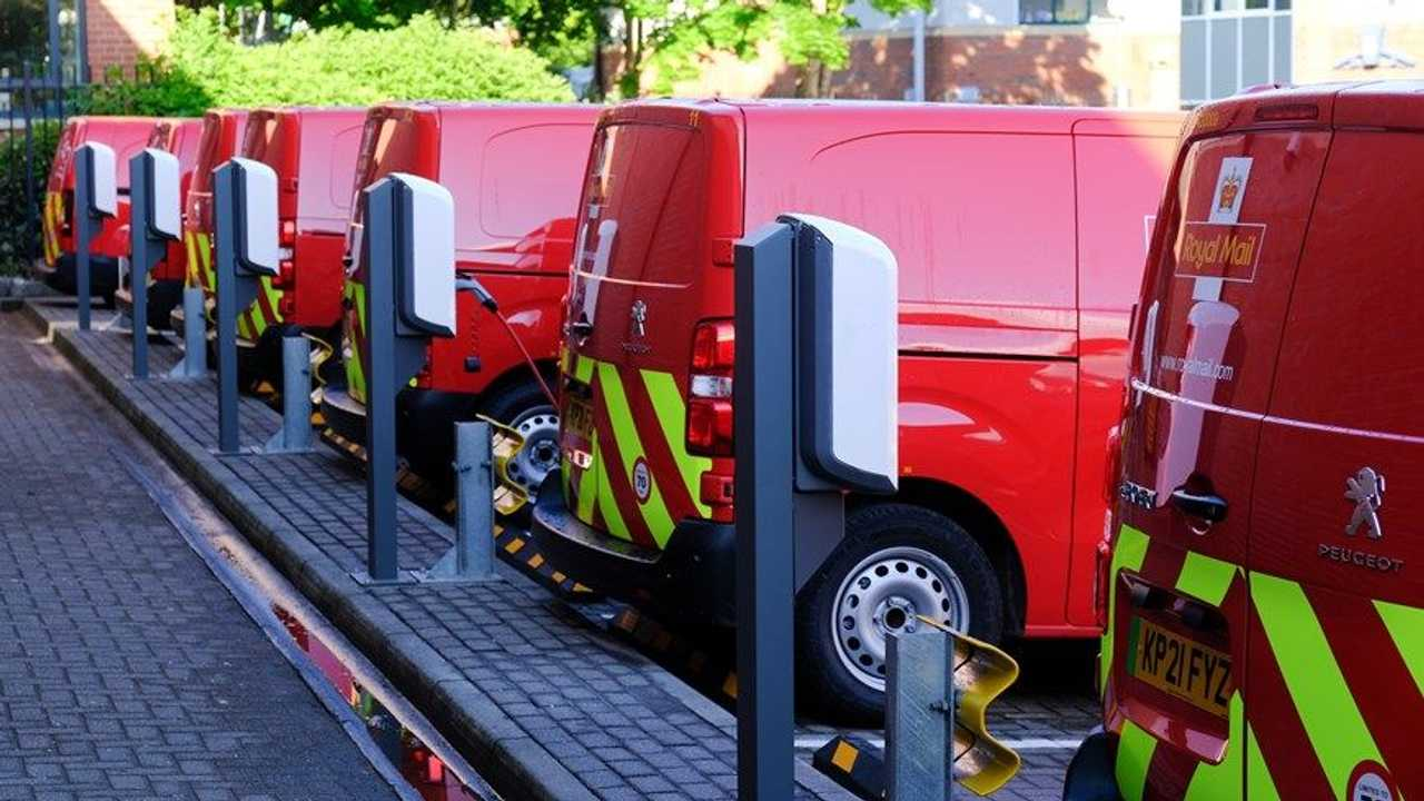 Royal Mail launches first delivery office to operate an all-electric delivery fleet (source: Royal Mail)