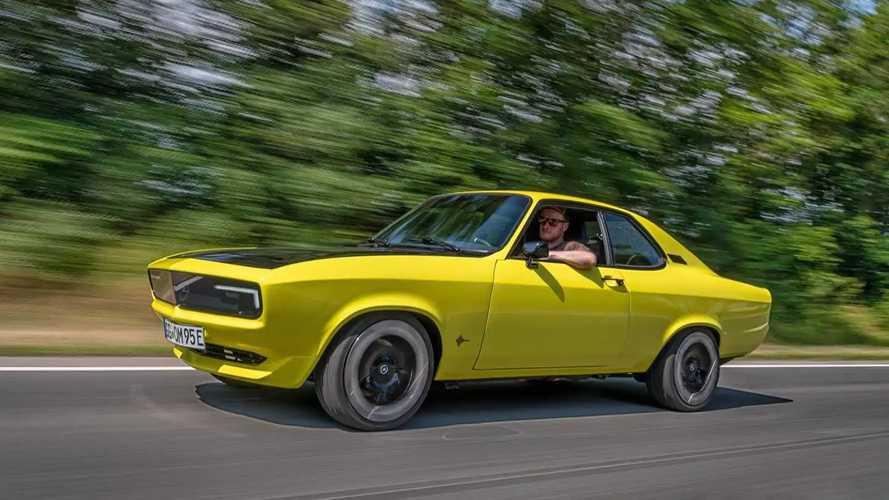 Prueba Opel Manta GSe ElektroMOD, un eléctrico con cambio manual