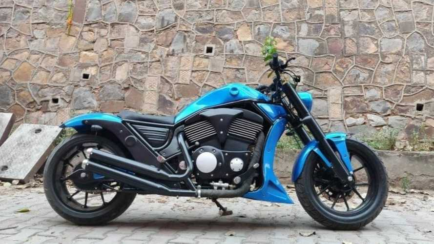 This Custom Royal Enfield Wants To Bring Out Its Inner Harley