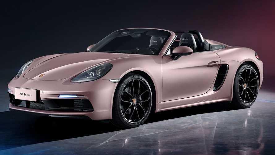 Porsche 718 Spyder China Debut