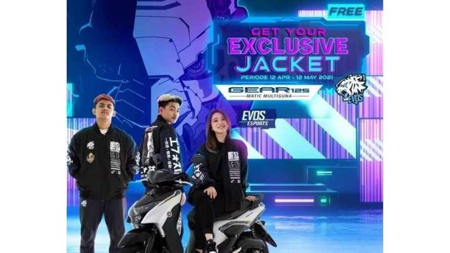 Yamaha Beri Jaket Khusus untuk Pembelian Gear 125