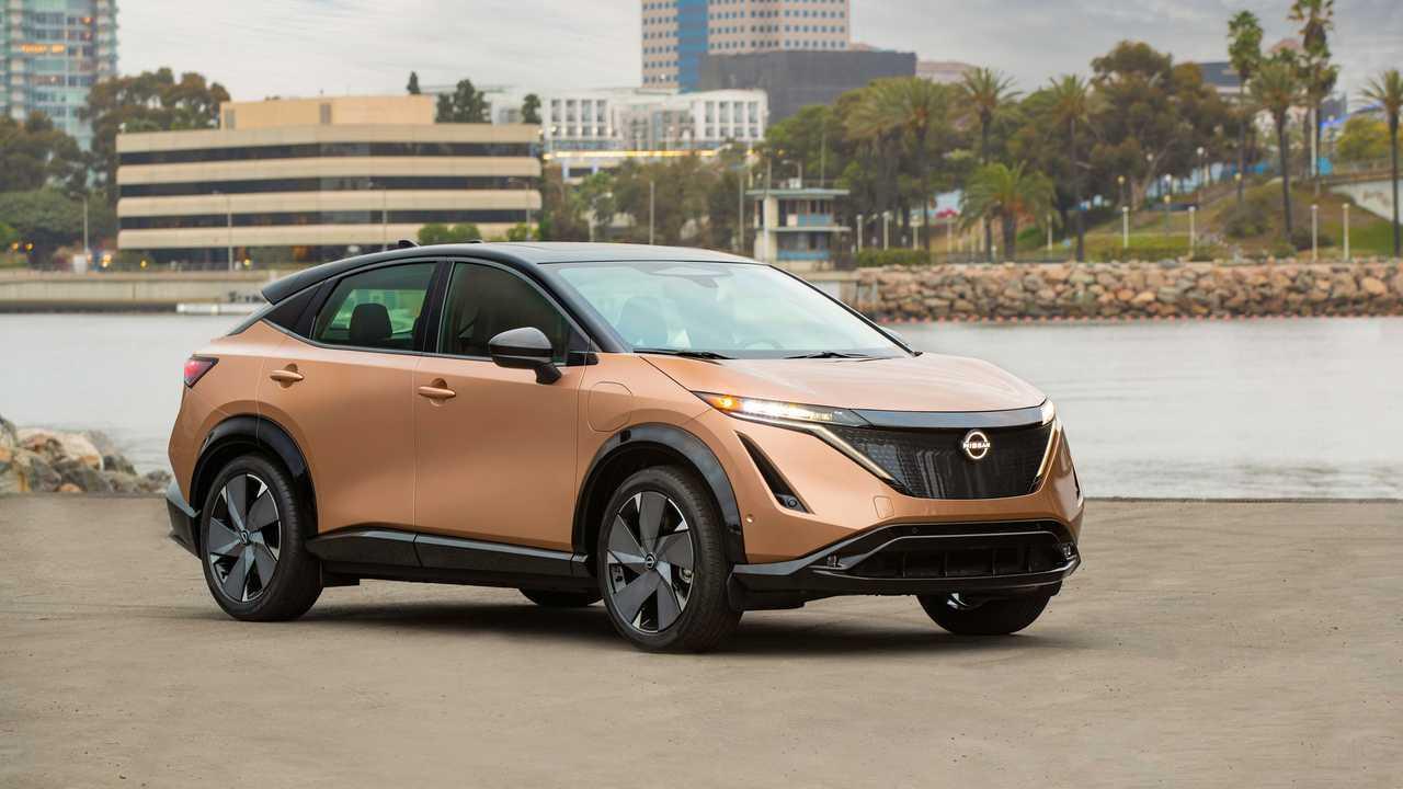 2022 Nissan Ariya Electric SUV US Production Look