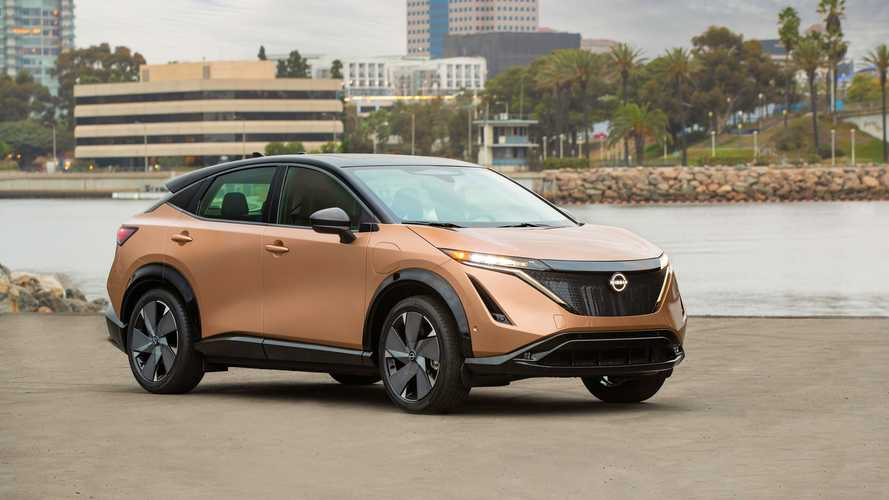 Photo Gallery: 2022 Nissan Ariya Electric SUV Final U.S. Production Look