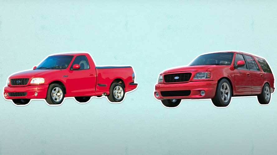Ford SVT Lightning Almost Had An SUV Brother Called The Thunder