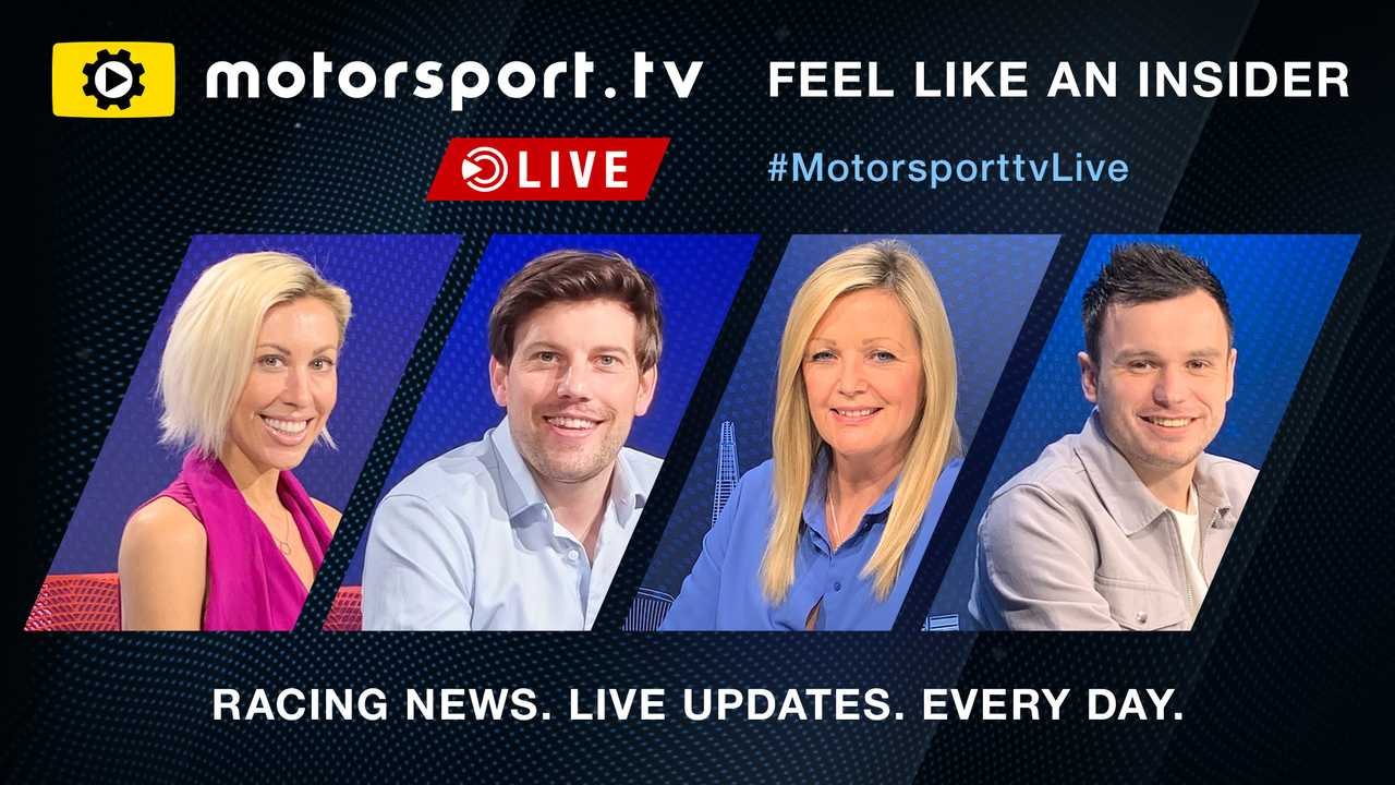 Presenters confirmed as Motorsport.tv Live hits the air