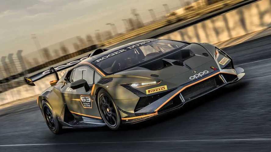 Lamborghini Huracán Super Trofeo EVO2: para la copa monomarca