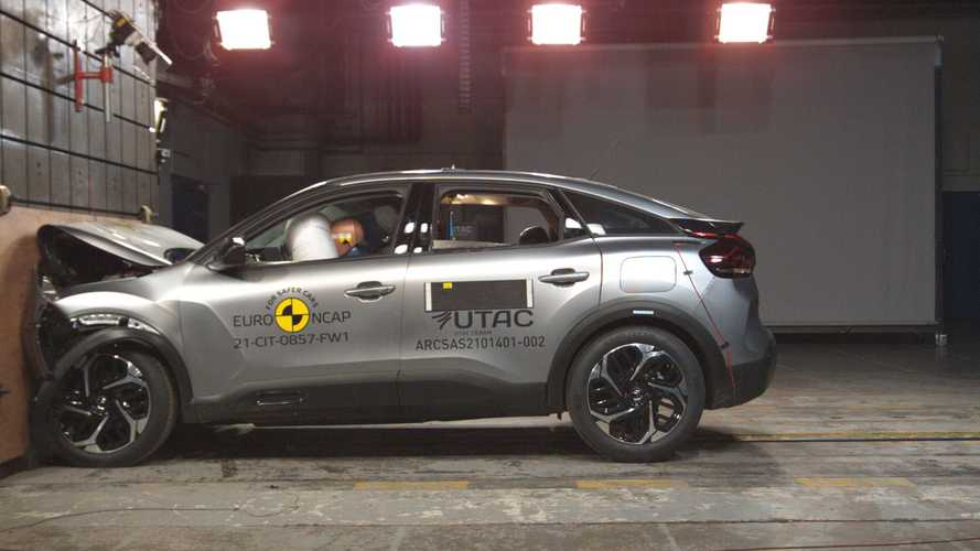 Citroen C4 ed e-C4, i crash test Euro NCAP