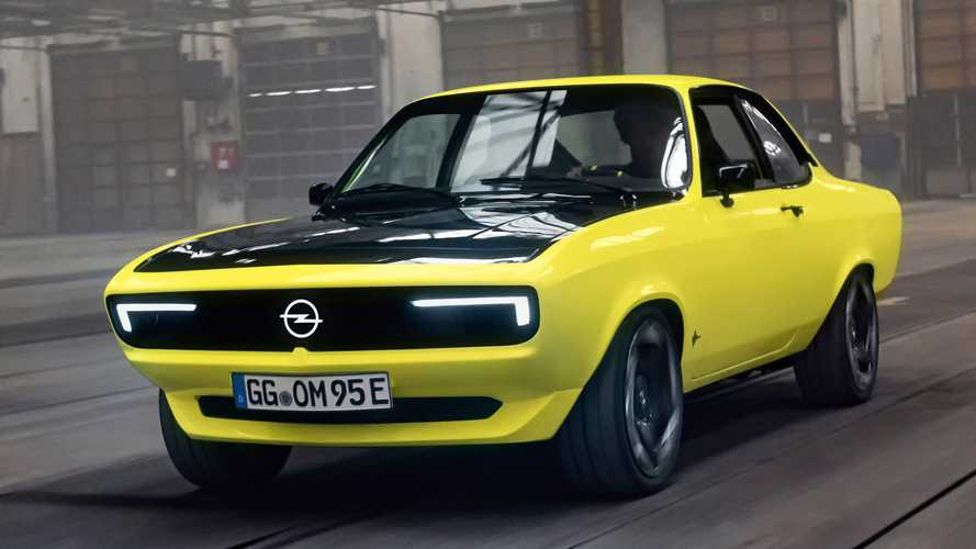 Opel Reveals Manta EV Conversion Restomod One-Off With Manual Gearbox